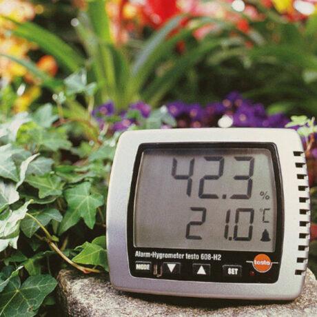 Поверка термогигрометра Testo 608-H2