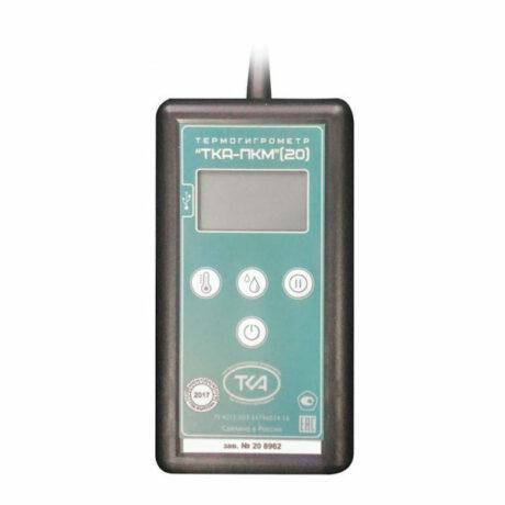 Поверка термогигрометра ТКА-ПКМ (20)