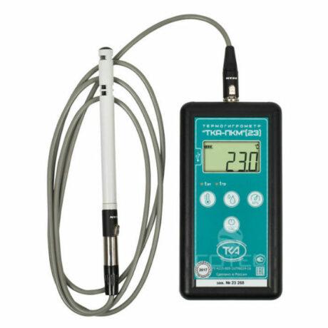 Поверка термогигрометра ТКА-ПКМ (23)