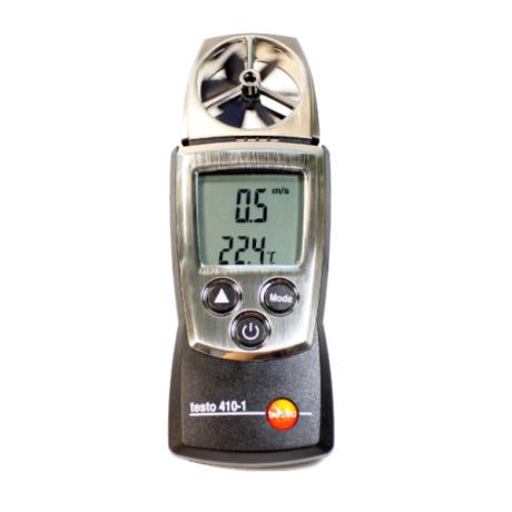 Поверка термоанемометра Testo 410-1
