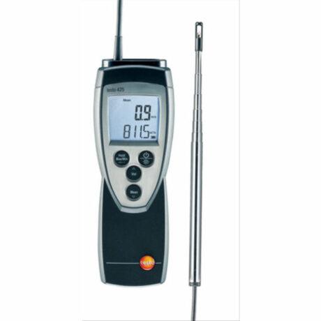 Поверка термоанемометра Testo 425