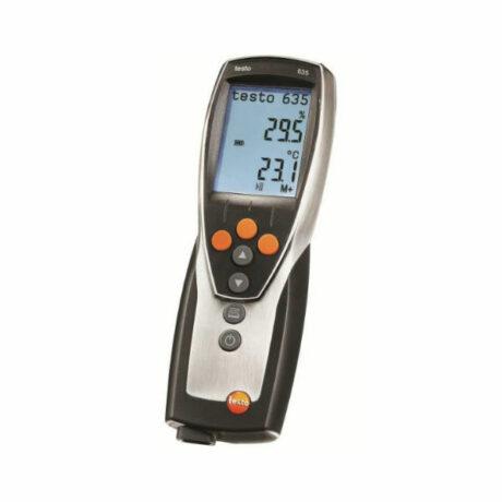 Поверка термогигрометра Testo 635