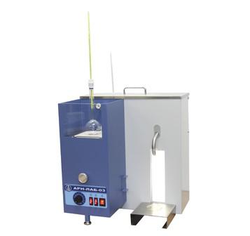 Аттестация аппарата для разгонки нефтепродуктов АРН-ЛАБ-03