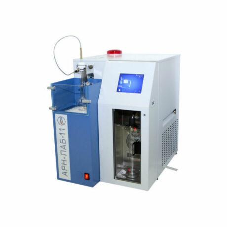 Аттестация аппарата для определения фракционного состава нефти АРН-ЛАБ-11