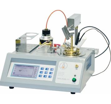 Аттестация аппарата для определения температуры вспышки в закрытом тигле ТВЗ-ЛАБ-11