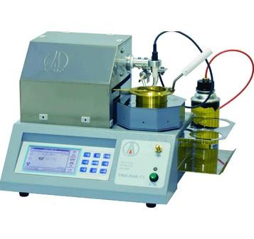Аттестация аппарата для определения температуры вспышки в открытом тигле ТВО-ЛАБ-11