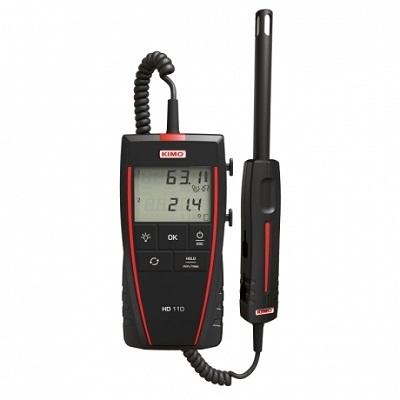 Поверка термогигрометра KIMO HD 110