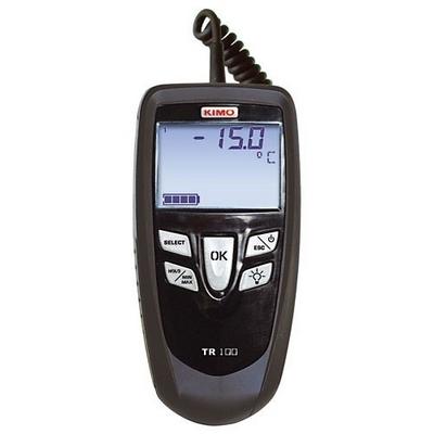 Поверка термометра KIMO ТR 100/TR 102