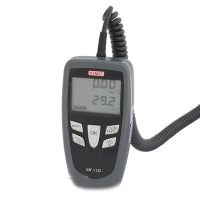 Поверка термоанемометра KIMO LV 107