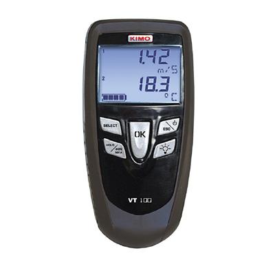 Поверка термоанемометра KIMO VT 100