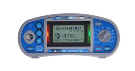 Поверка измерителя параметров электроустановок MI 3100SE EurotestEASI