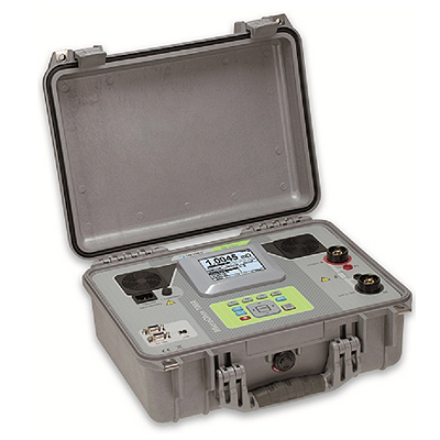 Поверка микроометра Metrel MI 3252 MicroOhm 100A