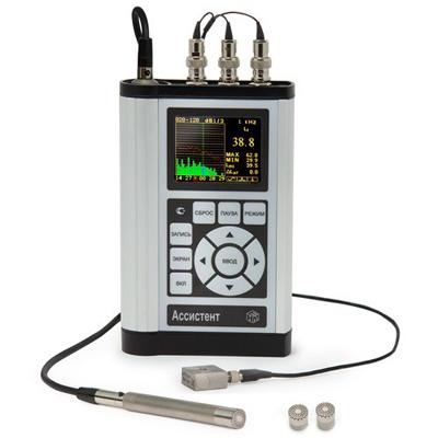 Поверка шумомера, виброметра, анализатора спектра АССИСТЕНТ SIU 30 V3RT