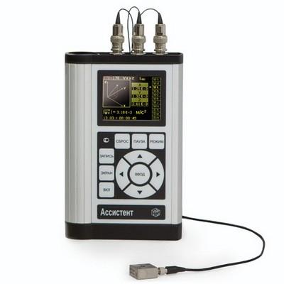 Поверка виброметра, анализатора спектра АССИСТЕНТ V3RT