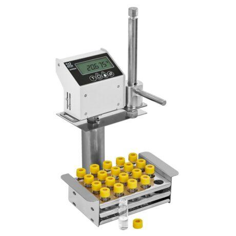 Аттестация установки для криоскопического определения молекулярной массы КРИОН-1