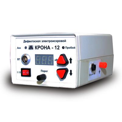 Калибровка дефектоскопа электроискрового Крона 12