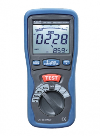 Поверка мегаомметра DT-5505