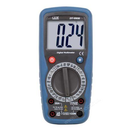 Поверка мультиметра DT-9908