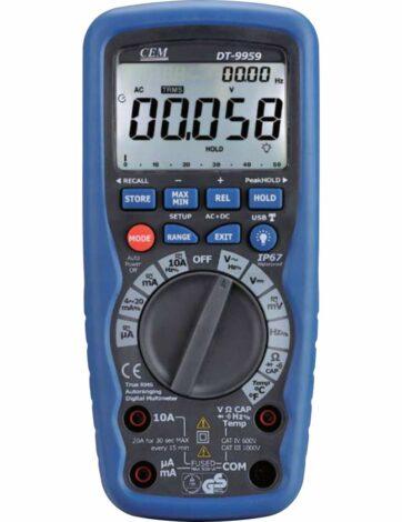 Поверка мультиметра DT-9959