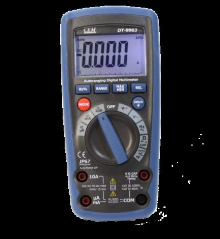 Поверка мультиметра DT-9963