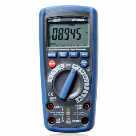 Поверка мультиметра DT-9969