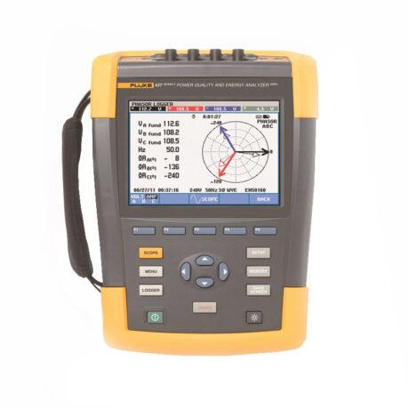 Поверка анализатора качества электроэнергии Fluke 437-II