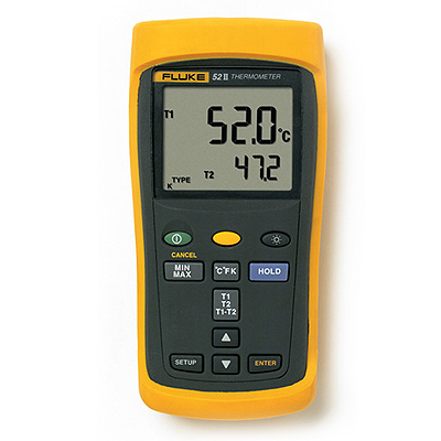 Поверка термометра электронного Fluke 52 II