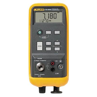 Поверка калибратора давления Fluke 718 100G