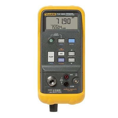 Поверка калибратора давления Fluke 719 100G