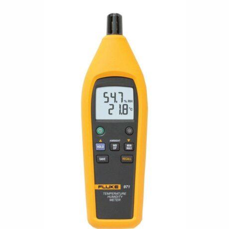 Поверка термогигрометра Fluke 971