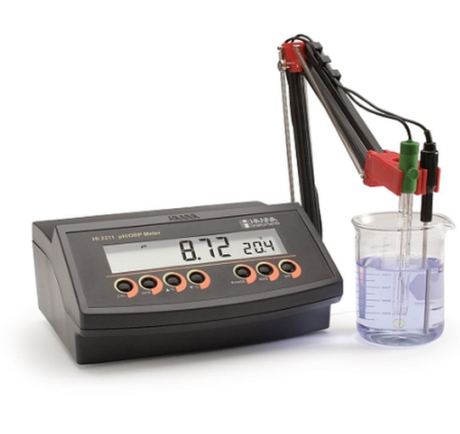 Поверка pH-метра HI2211-02