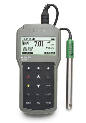 Поверка pH/ОВП/термометра HI98190