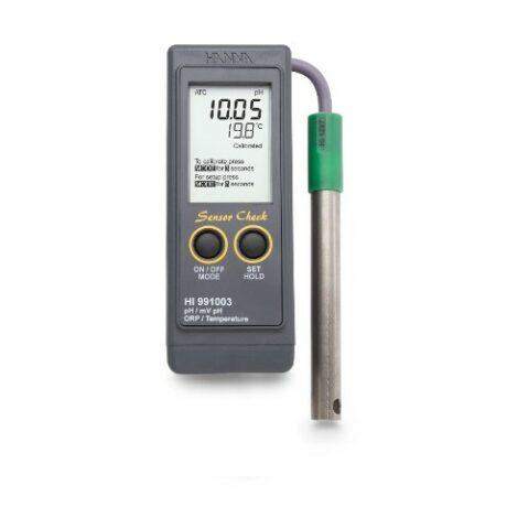 Поверка рН/ORP/mV/C-метра HI991003