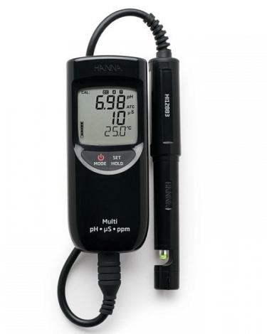Поверка рН/ЕС/TDS-метра HI991300