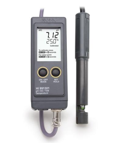 Поверка рН/ЕС/TDS-метра HI991301
