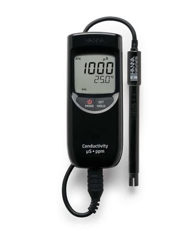 Поверка кондуктометра-солемера HI99300
