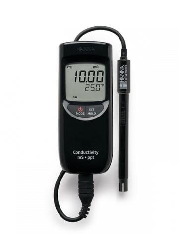 Поверка кондуктометра-солемера HI99301