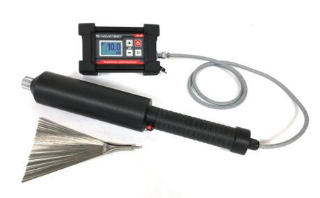 Калибровка дефектоскопа электроискрового NOVOTEST Искра-1