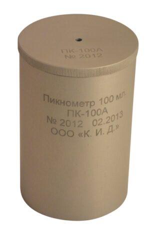 Калибровка пикнометра ПК-100А