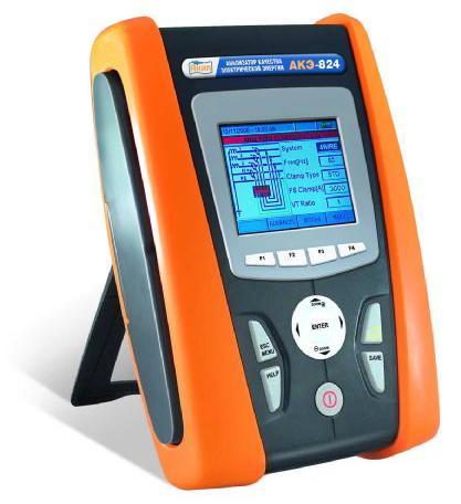 Поверка анализатора качества электроэнергии АКЭ-824