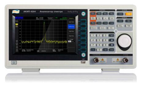 Поверка анализатора спектра АКИП-4204/1 с TG