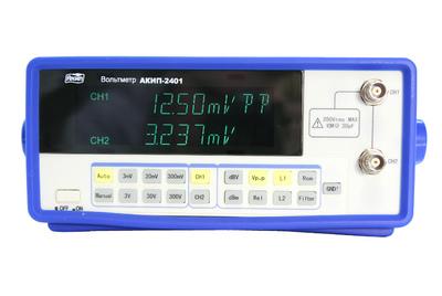 Поверка вольтметра АКИП-2401