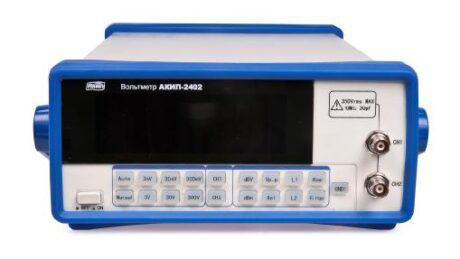 Поверка вольтметра АКИП-2402