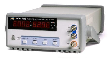 Поверка измерителя нелинейных искажений АКИП-4501