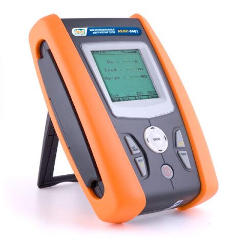 Поверка измерителя параметров электрических сетей АКИП-8401