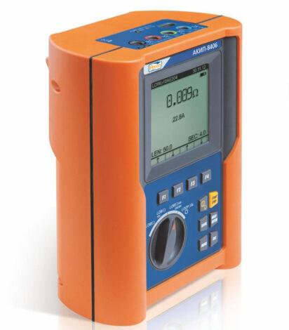Поверка измерителя параметров электрических сетей АКИП-8406