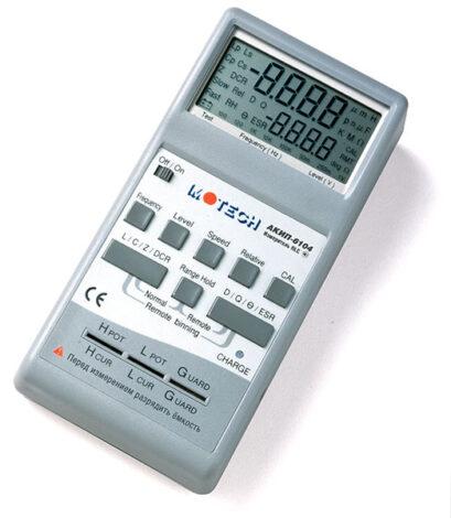 Поверка измерителя RLC АКИП-6104