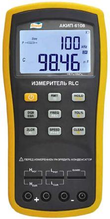 Поверка измерителя RLC АКИП-6108