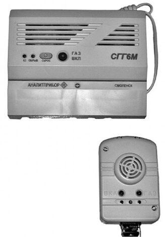 Поверка сигнализатора СГГ-6М