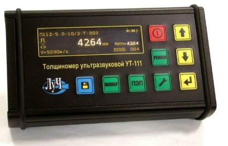 Поверка ультразвукового толщиномера УТ-111